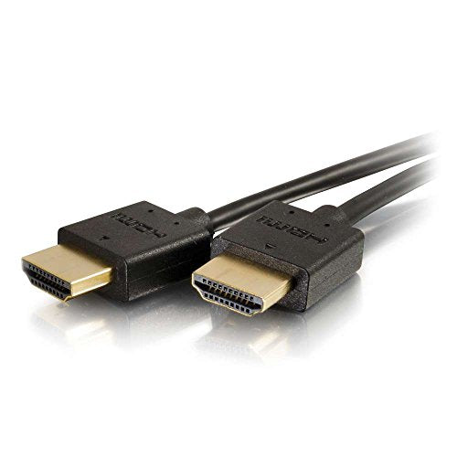 C2G / Cables To Go 41361 Ultra Flexible High Speed HDMI Cable with Low Profile Connectors (0.3 Meters/1 Foot)