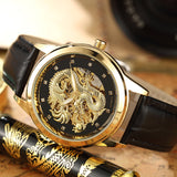 Montre Dragon Noir