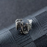 BAGUE DRAGON PHOSPHORESCENTE