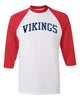 Raglan Baseball 3/4 Sleeve - Adult
