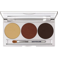 Kryolan Eye Shadow Trio Set - Smokey Collection - Smokey Brown, Kryolan Eyeshadow palette, Kryolan eyeshadow sets