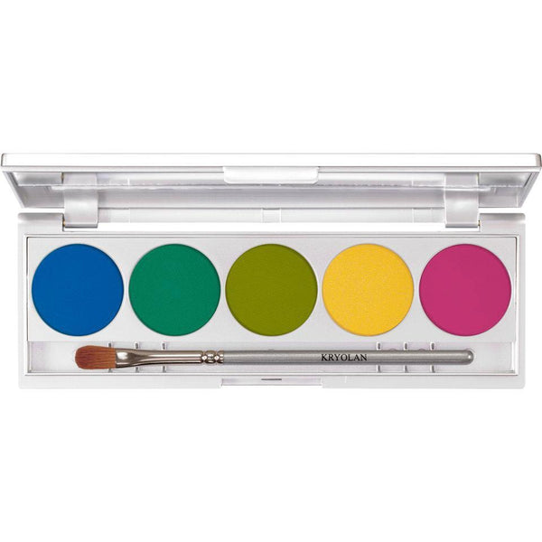 Kryolan Shades 5 Colors Rio | Kryolan Eyeshadow Palette