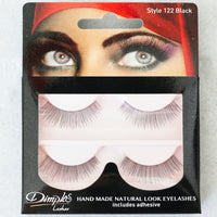 Dimple Lashes 122 Black Natural Eyelashes