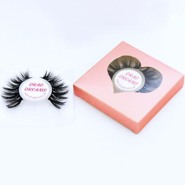 Drag queen eyelashes - Drag Eyelashes - Faux Eyelashes