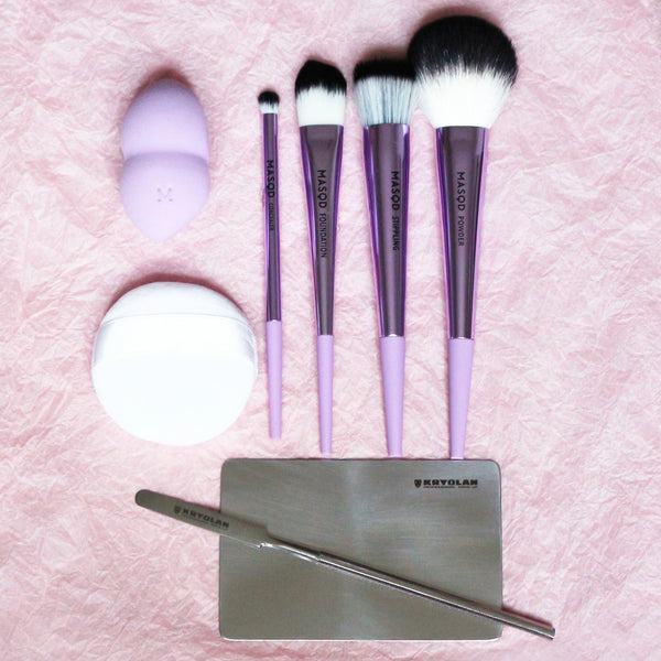 makeup-up brush set makeup tool set - makeup brush base kit