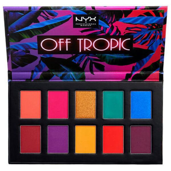 NYX Off Tropic Palette Eye Shadow - NYX Eyeshadow