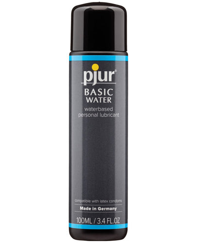 Pjur Basic Water Based Lubricant - 100 Ml Bottle - After Hours Toys