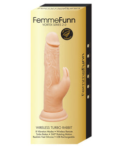 Femme Funn Wireless Turbo Rabbit 2.0 - Nude - After Hours Toys