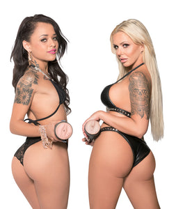 Pornstar Signature Series Double Anal Strokers - Set Of 2 - After Hours Toys