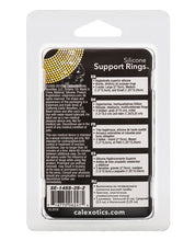 Load image into Gallery viewer, Silicone Support Rings - Black - After Hours Toys