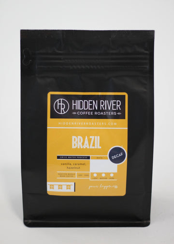 12 oz Brazil Decaffeinated (Medium/Dark Roast)