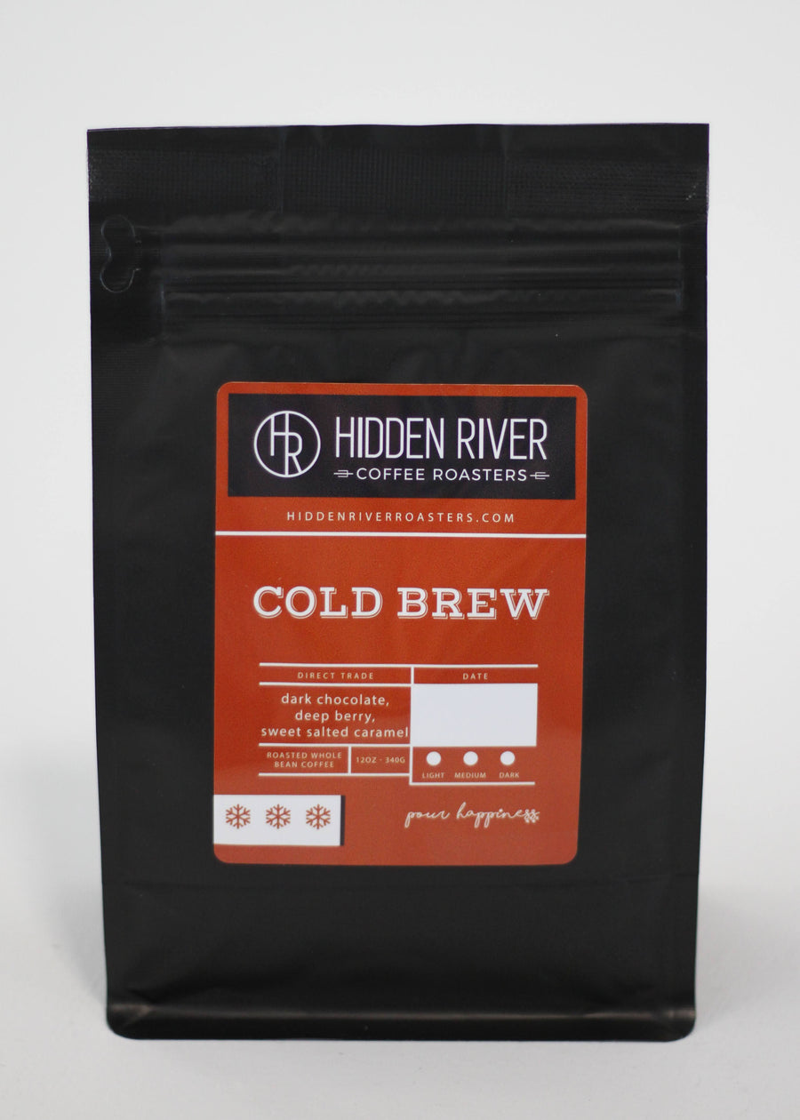 Cold Brew Blend (Dark Roast) Wholesale for Retail - 12 oz
