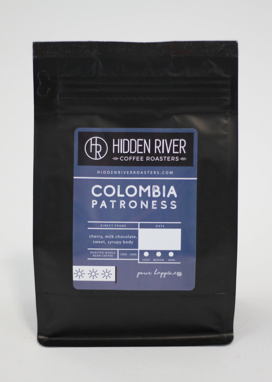 Colombia Patroness (Medium/Dark Roast) Wholesale for Retail - 12 oz