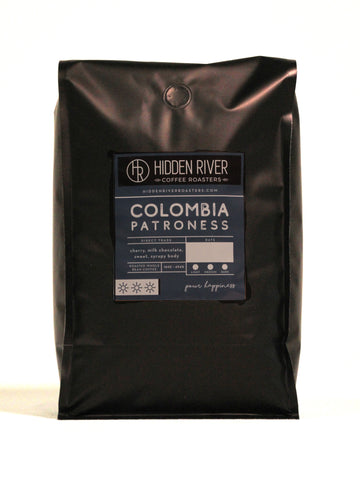 Colombia Patroness (Med/Dark Roast) - Wholesale (Bulk/Per Pound)