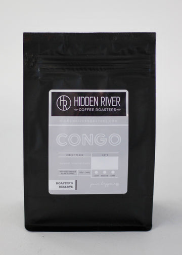 12 oz Congo (Medium/Dark Roast) Roaster's Reserve