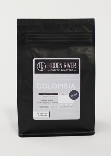 12 oz Colombia Decaffeinated - Sugarcane EA (Medium Roast) Roaster's Reserve