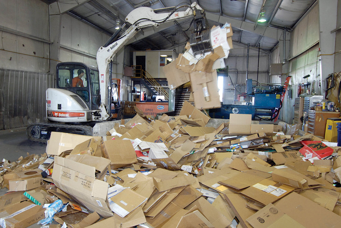 recycle sorting center
