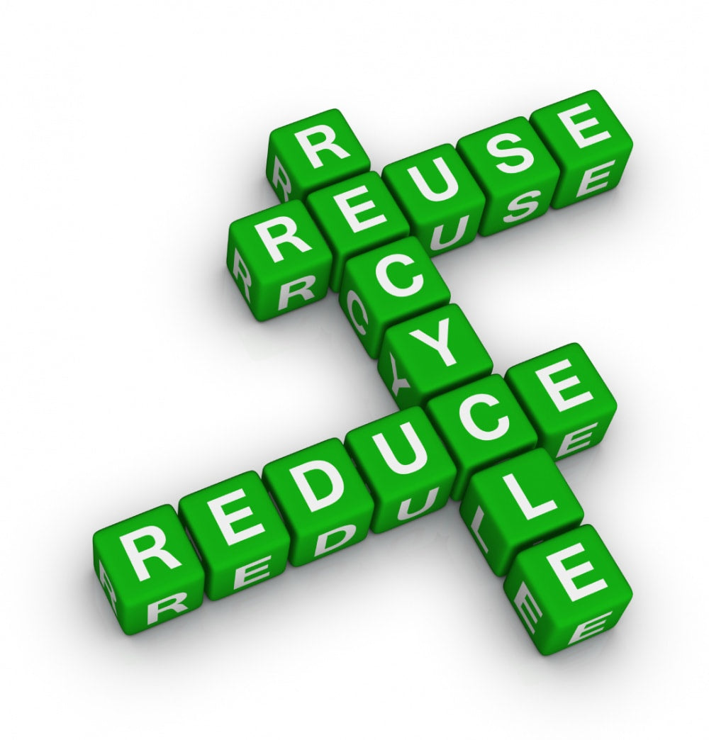 recycle reuse reduce important