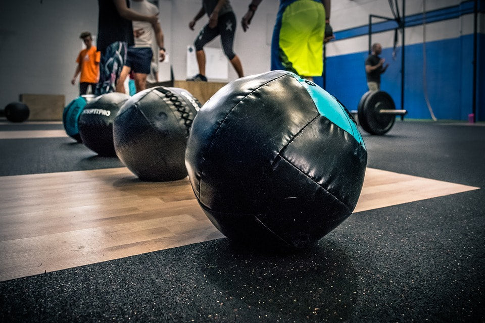 Different exercises with cross fit