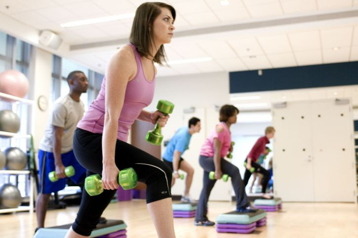 exercise and workout helps destress