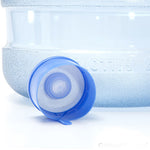 55mm One-Time Use No Spill Cap for Crown Top Bottles - 50 Pieces