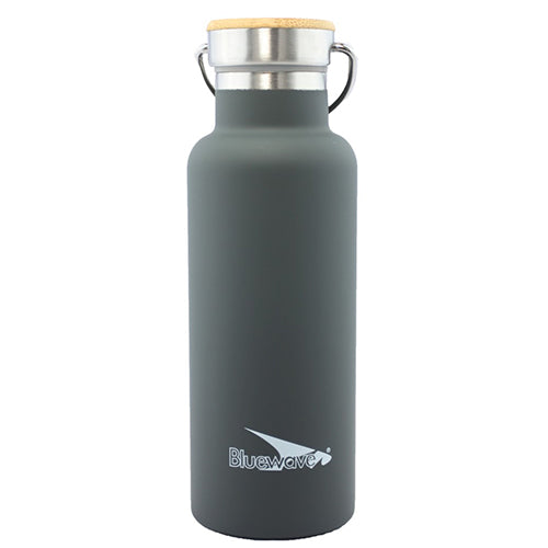 D2 Insulated Water Bottle - 500ml / 17oz Metal Grey