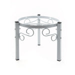 "Counter Metal Stand - 7.5"" Inch Metal, White"