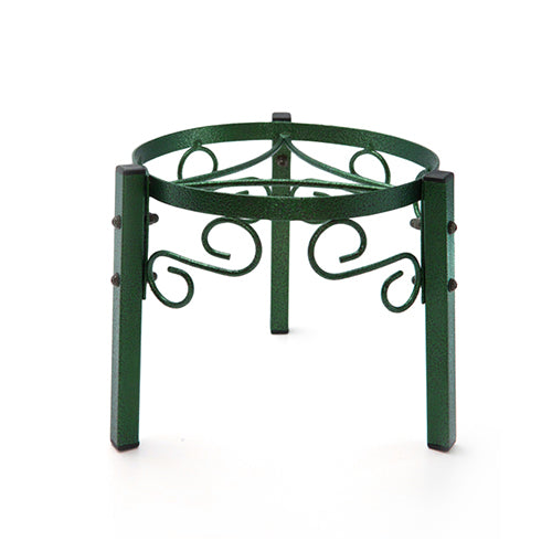 "Counter Metal Stand - 7.5"" Inch Metal, Green"
