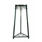 "2 Step Floor Metal Stand - 32"" Inch Metal, Green"