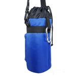 1.5 Liter Insulated Water Bottle Holder | Carrier Case – Blue