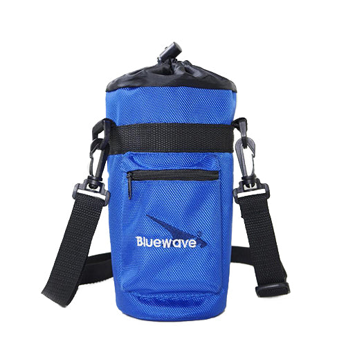 1 Liter Insulated Water Bottle Holder | Carrier Case - Blue