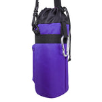 1 Liter Insulated Water Bottle Holder | Carrier Case - Purple