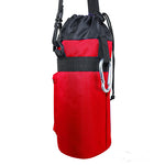 1 Liter Insulated Water Bottle Holder | Carrier Case - Red