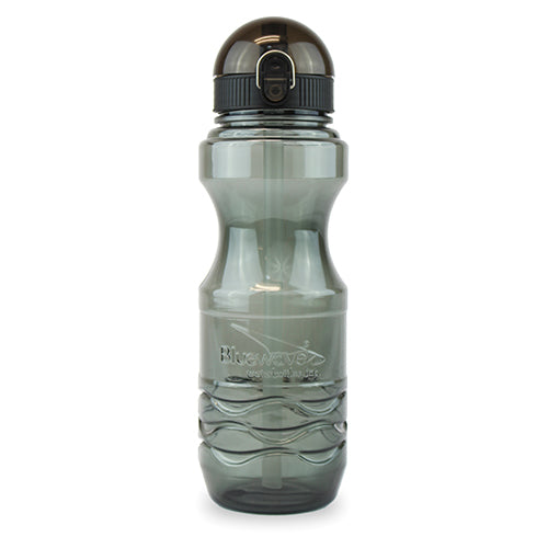 Bullet Water Bottle with Straw - 0.6 Liter (20 oz) Graphite Grey