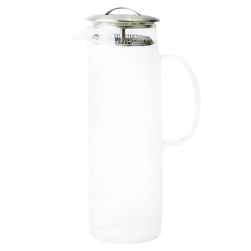 1.5 Liter | 50 oz Reusable Plastic Pitcher with Lid
