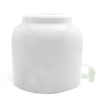 Bluewave White Cats Design Beverage Dispenser Crock