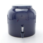 Bluewave Solid Blue Design Beverage Dispenser Crock