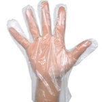 Plastic PE Disposable Gloves - 500 Pieces