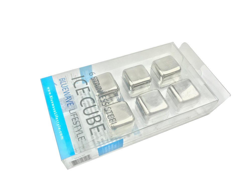 Bluewave Stainless Steel Ice Cubes