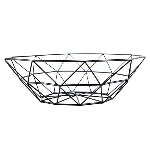 "Metal Wire Fruit Bowl - 11"" Inch"