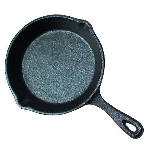 "Cast Iron Skillet - 6.5"" Inches"