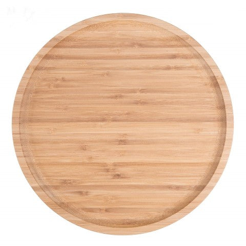"Wood Serving Tray - 12"" Inch"