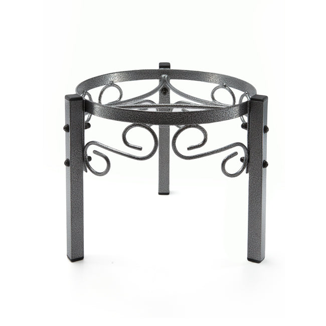 "Counter Metal Stand - 7.5"" Inch Metal, Dust Black"
