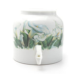 Bluewave Morning Wish Design Beverage Dispenser Crock