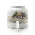 Bluewave English Countryside Design Beverage Dispenser Crock