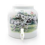 Bluewave Dalmatians Design Beverage Dispenser Crock