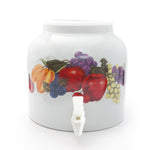 Bluewave Fruits Design Beverage Dispenser Crock