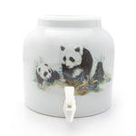 Bluewave Pandas Design Beverage Dispenser Crock