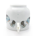 Bluewave Tropical Fishes Design Beverage Dispenser Crock
