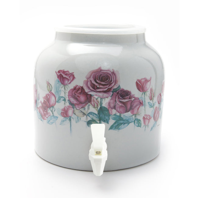 Bluewave Love of Spring Design Beverage Dispenser Crock